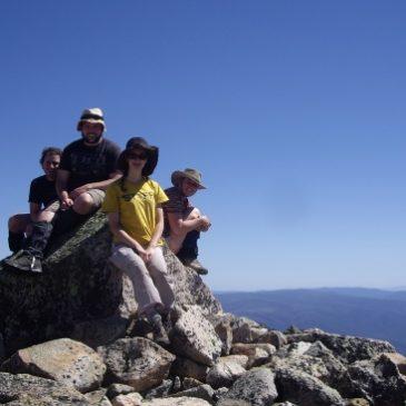 Australia's 10 highest peaks