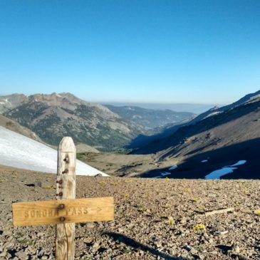 Tuolumne Meadows to Sonora Pass