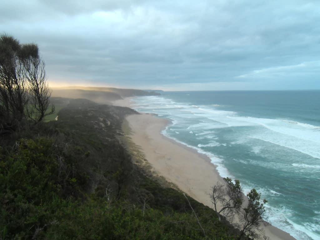 Sunrise at Johanna Beach