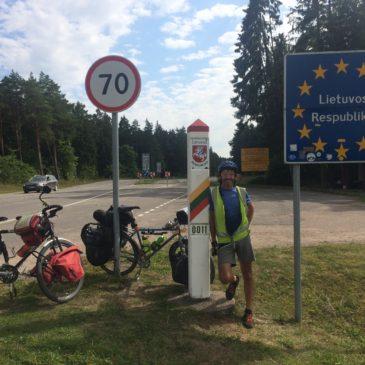 Ikla (Latvia) to Sventoji (Lithuania)