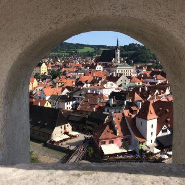 Prague to Cesky Krumlov (Czech Republic )