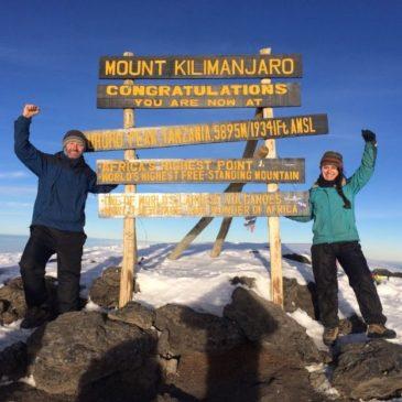 K is for Kili: Tanzania – Mount Kilimanjaro