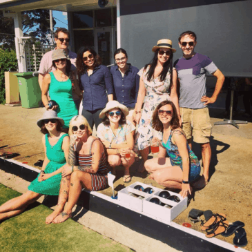 B is for Barefoot Bowls